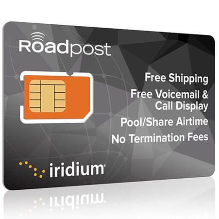 Iridium Plans SIM Card by Roadpost