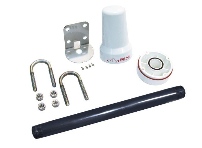 Beam Iridium Mast/Pole Passive Antenna (RST710)