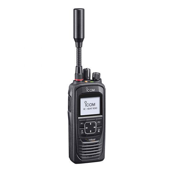 Icom IC-SAT100 Satellite PTT Radio (Push-To-Talk)