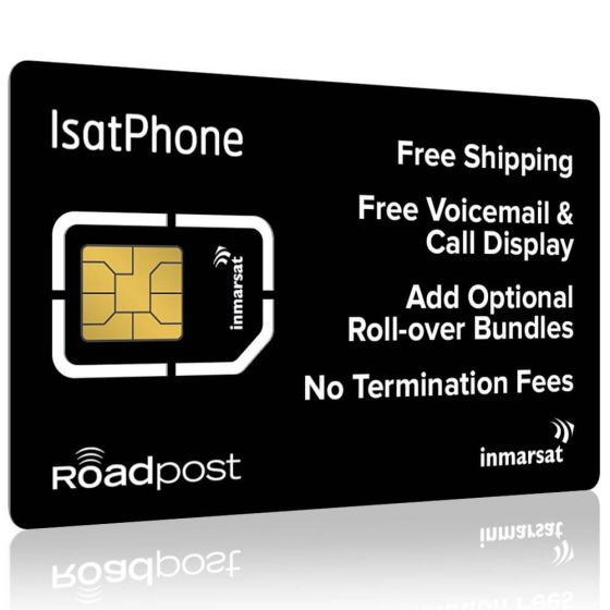 Inmarsat IsatPhone Plans SIM Card