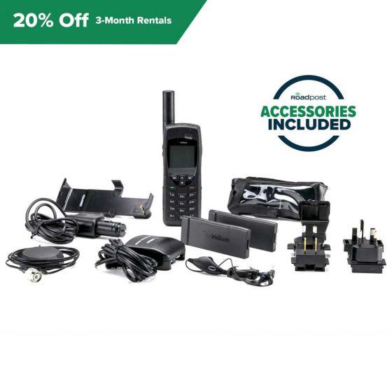 Save 20% Off Satellite Phone Rentals, Model: Iridium 9555, Rental Term: 3-month