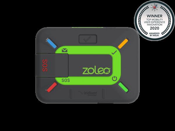 Iridium-based ZOLEO satellite communicator awarded Top Mobility User Experience Innovation by MSUA