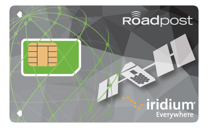 Iridium Satellite Phone Prepaid SIM cards