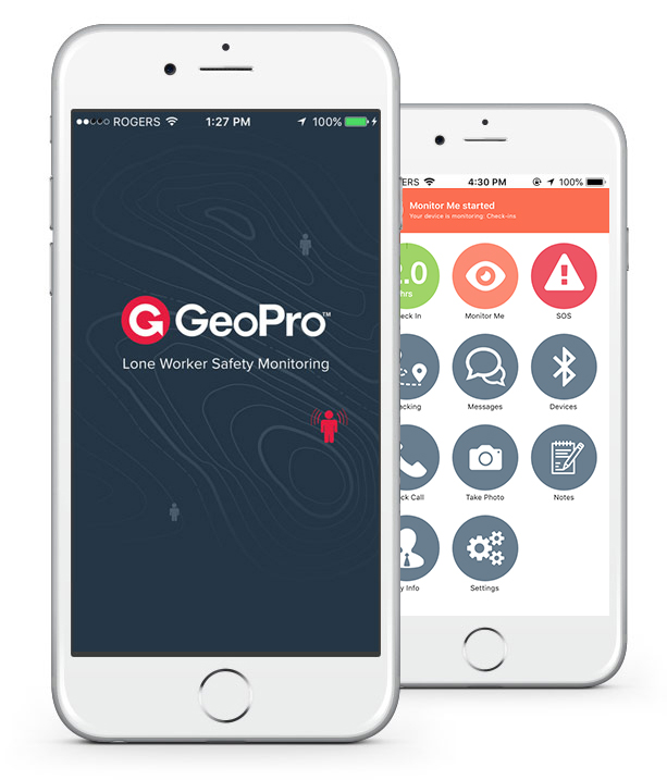 GeoPro Mobile App for Smartphones