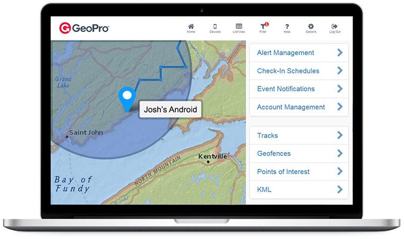 GeoPro Web App
