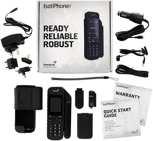 Inmarsat IsatPhone 2 What's in the Box