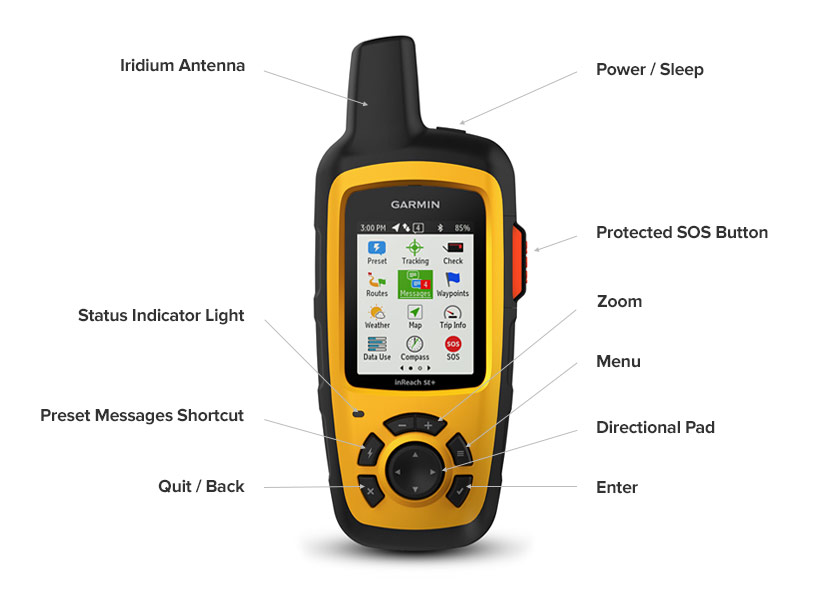 inReach Explorer+ Features and Specs