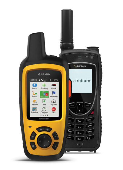 Iridium Extreme and inReach SE+